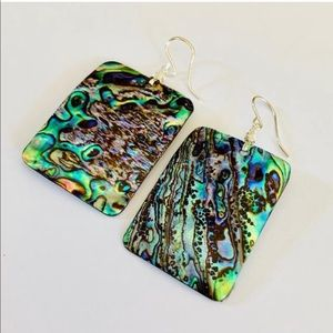 Katy Ginger Designs Jewelry - NWT KATY GINGER DESIGNS Abalone Earrings
